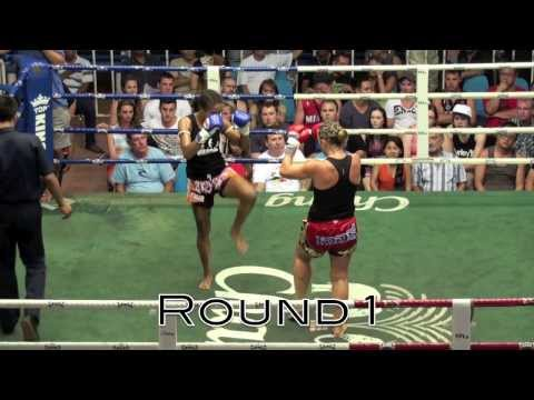 Brutal Elbows: Farida Okiko (Tiger Muay Thai) vs Gerry (Sinbi Muay Thai) 18/10/2013 Image 1