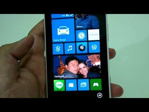 Windows Phone 7.8 (em PT-BR) no Nokia Lumia 900