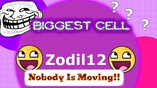 NOBODYS MOVING!? Agario #5