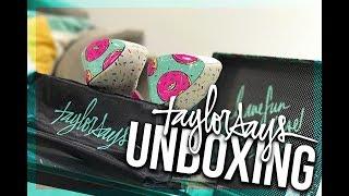 High Heel Unboxing | Taylor Says Glazed Platform Heels