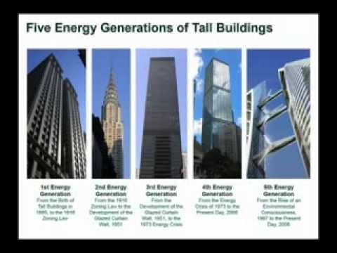 CTBUH 2008 Dubai Congress - Oldfield, Trabucco, Wood - Five Energy Generations of Tall Buildings