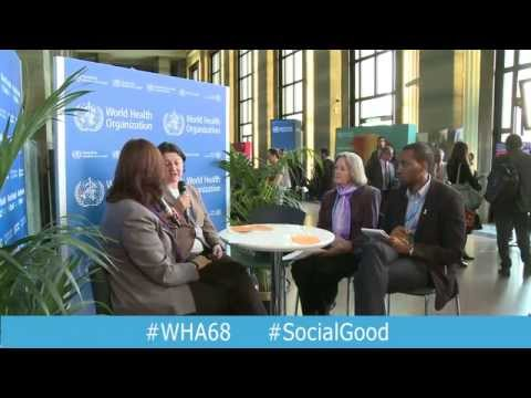 "WHO: Better Health for Women, Children and Adolescents - Interview at ""World Health +SocialGood"""