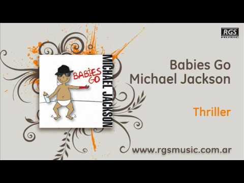 Babies Go Michael Jackson - Thriller
