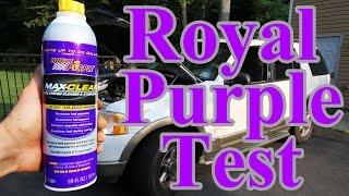 Does Royal Purple Fuel Max Cleaner Actually Work (with Proof)?