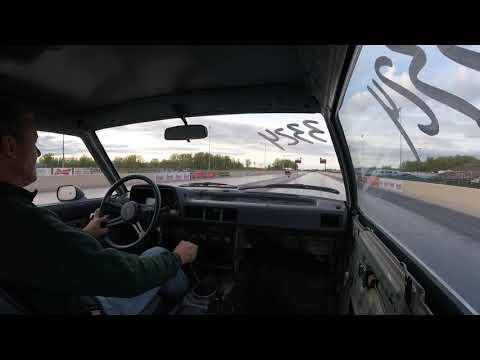 81 Mazda 626 1/4 mile -- ( Summit ) Norwalk Raceway