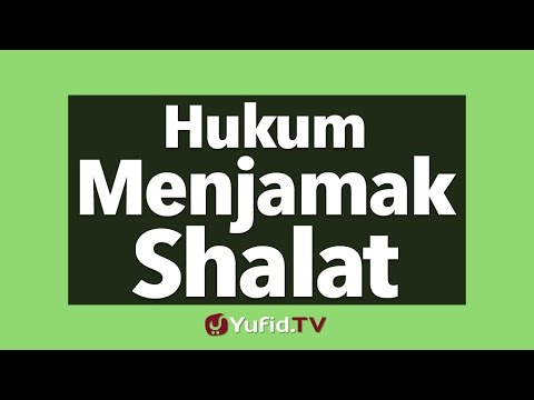 Hukum Menjamak Shalat