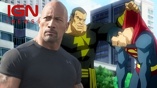 Dwayne Johnson Confirms Superman Will Fight Black Adam - IGN News