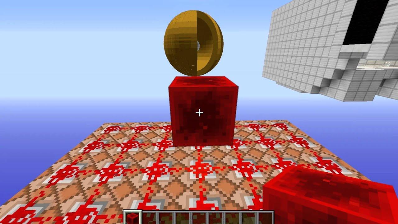 Make a Sphere in Minecraft