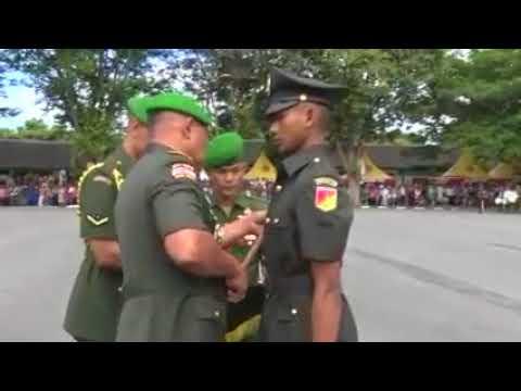 Pangdam XIII/Mdk Melantik Dikmata gel I TA 2017