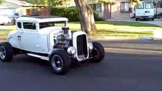 1931 Ford Coupe-Driving