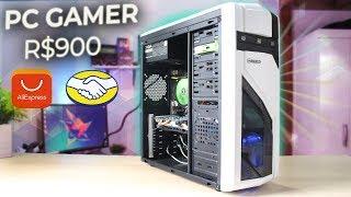 PC Gamer Barato (R$900) ALIEXPRESS PRA TODOS JOGOS - Montagem e Testes 2019