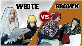 SCHOOL PARENT TEACHER MEETINGS! (White vs Brown)