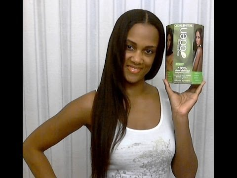 Long & Relaxed Hair : Relaxer Day Using CON Straight From Eden