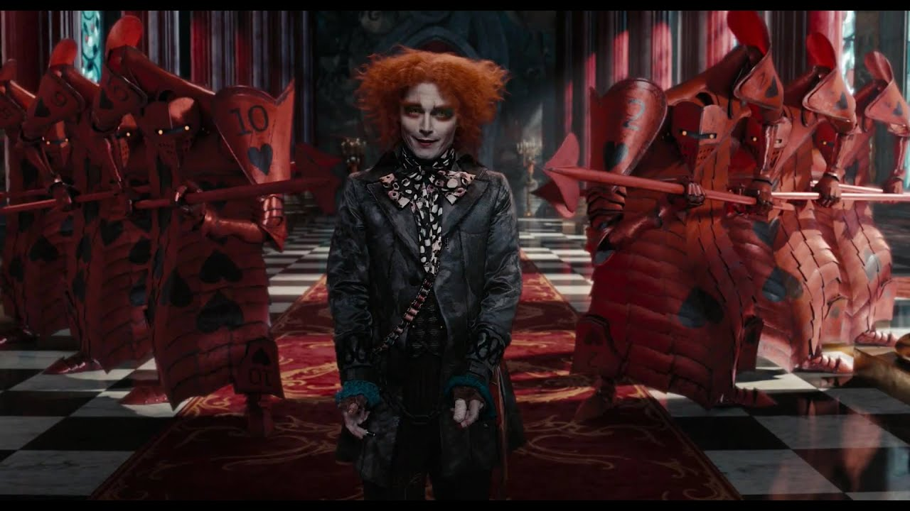 Citaten Uit Alice In Wonderland : Alice in wonderland clip i d like to hat you youtube