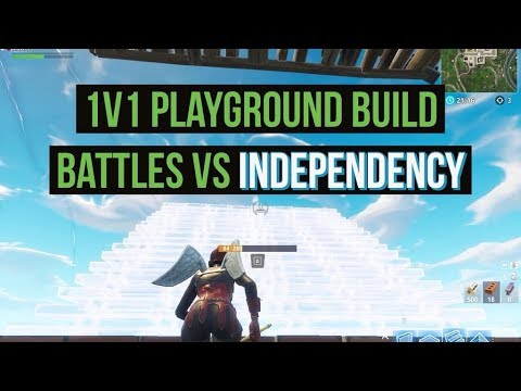 1v1s Playground Buildfights VS Independency