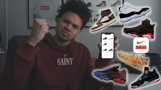 ALL MY SNKRS APP PICKUPS!