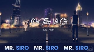 Tng V Gi  Mr Siro Official Lyrics Video