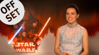 Daisy Ridley: I used to speak to BB-8 like it was a baby!
