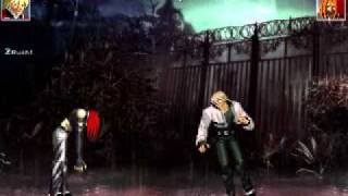 Rock vs Freeman - mugen