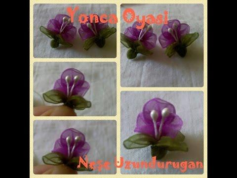 Organze Kurdele oyaları&YONCA  ÇİÇEĞİ &Forex flower,health flower,holiday flower, , summer flower