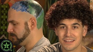 Painting a Bob Ross Landscape on My Head - Ready Set Show