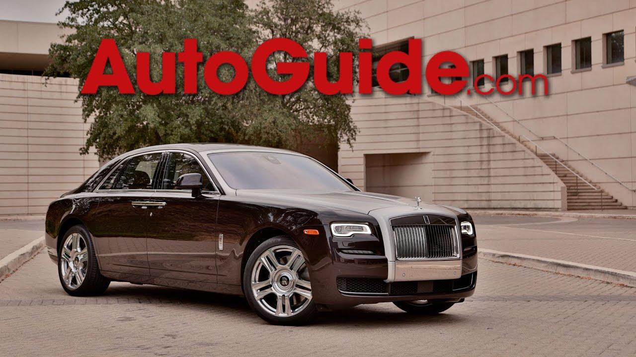 2015 Rolls Royce Ghost Series II - First Drive - YouTube