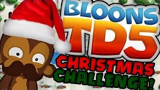 balloons TD XMAS MAP!!! *balloons Tower Defence*