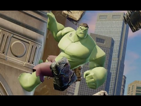 Disney Infinity 2.0 - Marvel Super Heroes - All Hulk Crossover Coins & Missions - Spider-Man Part 11