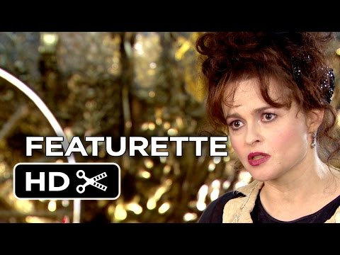 Cinderella Featurette - Fairy Godmother (2015) - Helena Bonham Carter Disney Fantasy Movie HD