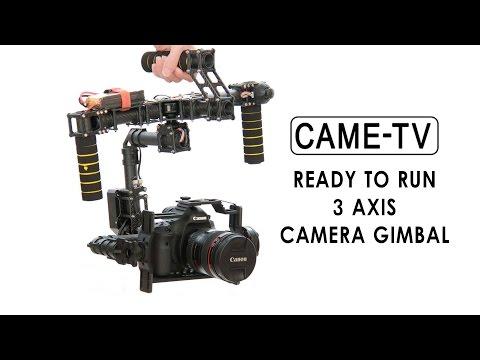 CAME 7500 - Ready To Run 3 Axis Camera Gimbal