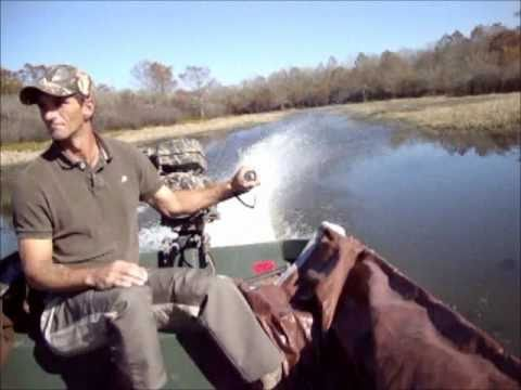 Copperhead Mud Motor at Grassy Lake WMA in Louisiana