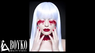 BEAUTY MAKE UP  FASHION RED