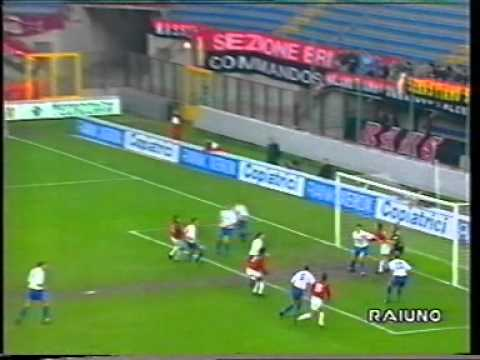 Milan – Copenaghen 1-0  2°t (RITORNO) CL 1993/1994 sintesi