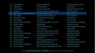 80min techno mix 2003
