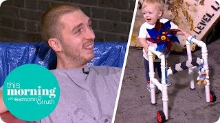 The Designer Dad Making Creative Inventions for His Son | This Morning