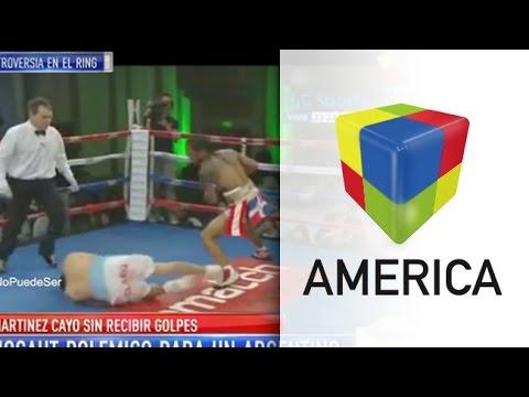 Polémico nocaut de un boxeador argentino