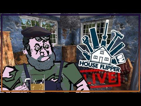 🔨 HOUSE FLIPPER 🔨 PAN WIESIO REMONTUJE DOM PUBLICZNY!? 🔨 RÓŻOWA REZYDENCJA! 🔨