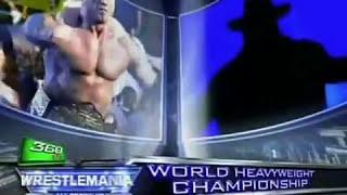 WWE WrestleMania 23 2007 Final Match Card