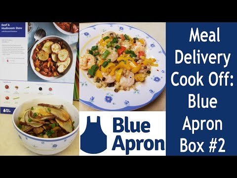 Meal Delivery Cook Off:  Blue Apron Box #2