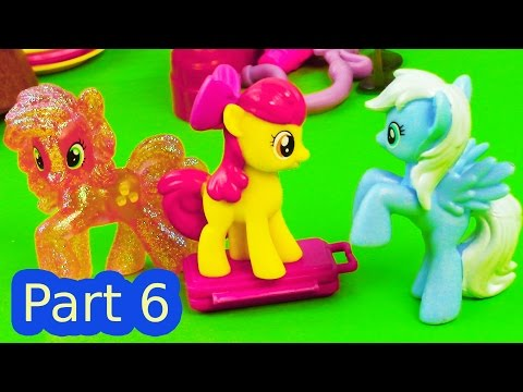 MLP Airport Suitcase Fight My Little Pony Travel Part 6 Apple Bloom