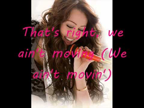 Timbaland - We Belong To The Music feat. Miley Cyrus (Lyrics on screen)