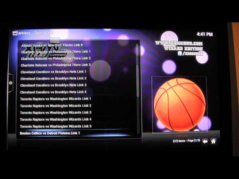 Live Sports on Jailbroken Apple TV 2 | Sports Devil Review | Free Live Sports | SportsDevil