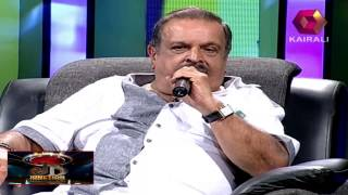 P Jayachandran sings 'Harshabaashpam Thooki'
