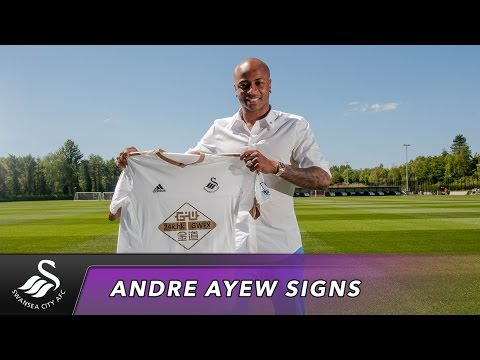 Swans TV - Andre Ayew's First Interview as a Swansea City Player