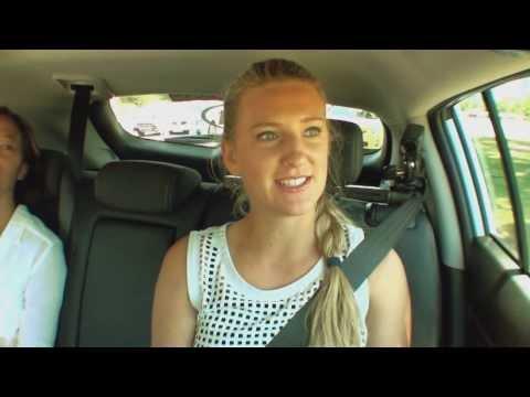 Victoria Azarenka: Kia Open Drive - 2014 Australian Open