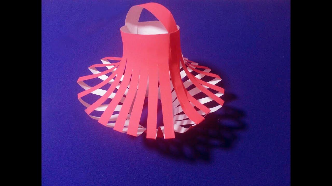 Как сделать новогодняя игрушка своими руками из бумаги