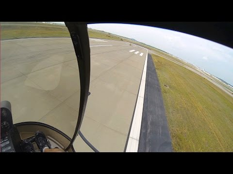 GoPro: R22 Helicopter Add-On Flight #26 Part II, Nashville to Tune, Staight/Hover Autos + Live Audio