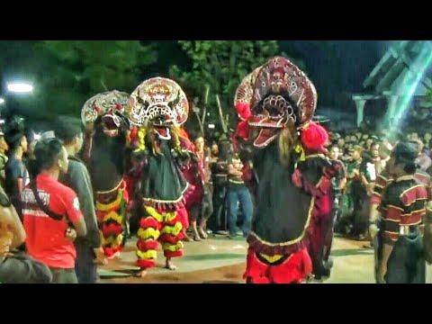 SINGO BARONG GANAS NGAMUK !!!--Penonton Nantang TAWURAN !!!-Rogo Samboyo Putro--Jaranan Terbaru