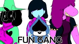 I got for you! Funny deltarune animation? Deltarune and Undertale Comic Dubs ?