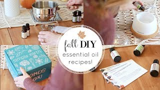FALL ESSENTIAL OIL DIY'S! THE BEST ESSENTIAL OIL SUBSCRIPTION BOX (ad)